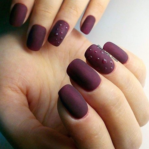 Latest Matte Nail Designs You Will Love 5