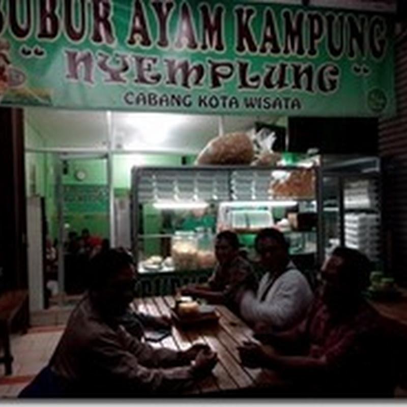 Bubur Ayam Nyemplung–Ayam Kampung Mustikajaya