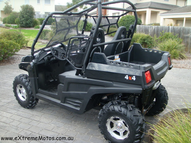 800cc Strike Hisun PQV-800 XUV Farm Sports UTV Side by side Black