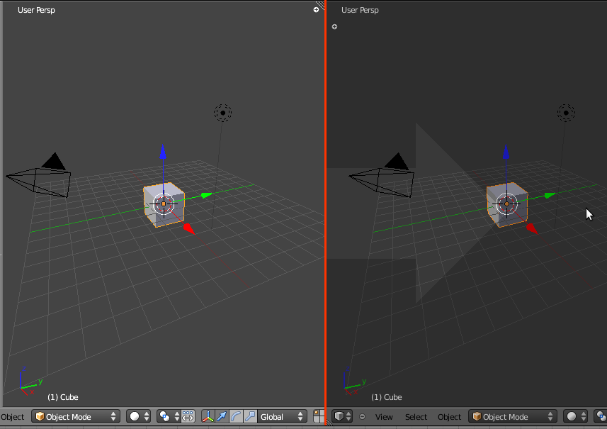 Split dan Join Area di Blender 2.5 4