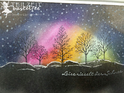 Stampin' Up! - In{k}spire_me #226, Christmas Special, Winterwald, Frosty Forest, Kling Glöckchen, Jingle all the Way, Lovely as a Tree, Northern Lights, Wetterleuchten