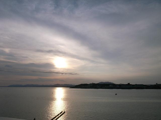 宍道湖夕日綺麗感想