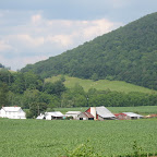 Gleaves Knob and the Gleaves farm.