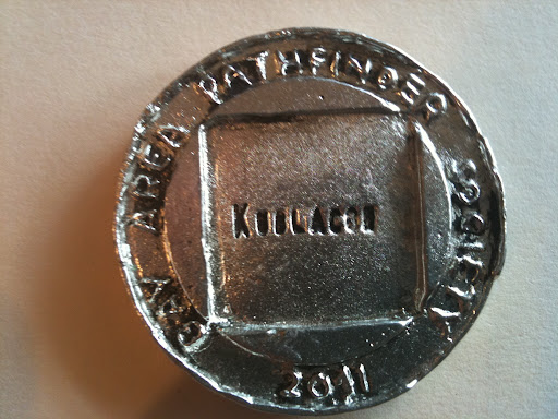 BAPS Judge Reward Coin 2011 back