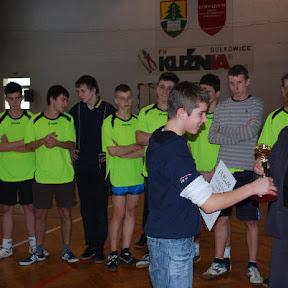 Zawody w piłkę ręczną - grudzień 2008