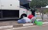 Chapada Diamantina - Roupas falsificadas de marcas famosas são apreendidas em bagageiro de ônibus