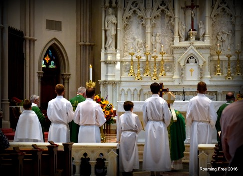 Mass at the Cathedral
