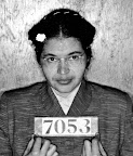 Rosa Parks Mug Shot - Montgomery 1956 Montgomery sheriff's department booking photos of Rosa Parks taken February 22, 1956. (AP/Wide World Photos)