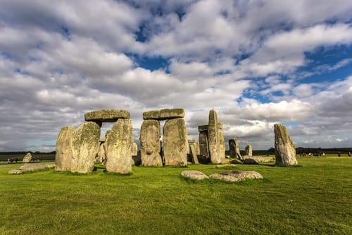 Stonehenge sunny moments UK
