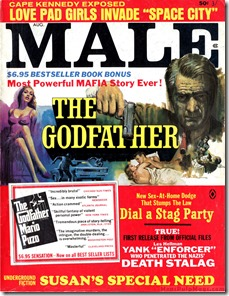 Mario Puzo Godfather in MALE, August 1969