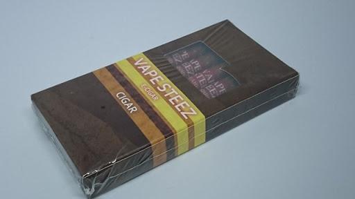 DSC 3378 thumb2 - 【電子タバコ】VAPE STEEZオリジナル小型「使い捨て電子タバコ」「使い捨て電子葉巻」レビュー。おしゃれな外観とコンパクトなボディ【電子タバコ/IQOS/スターターキット】