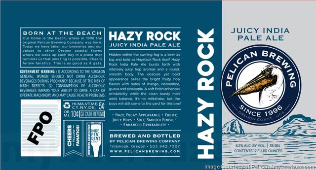 Pelican Brewing Adding Hazy Rock Juicy IPA