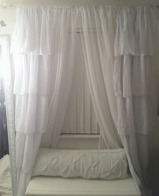 Shabby Chic: New Bedroom Curtains