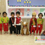 Humpty Dumpty Rhyme Enactment by Nursery Evening Section at Witty World, Chikoowadi (2017-18)