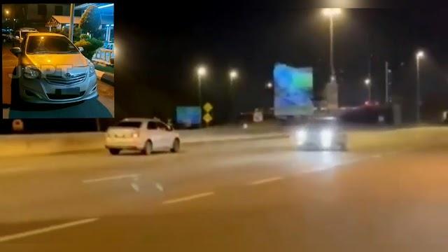 VIDEO - Lelaki ditahan pandu lawan arus di KESAS
