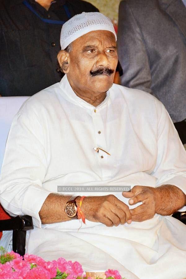 N Narasimha Reddy during the iftaar party, held in Hyderabad.