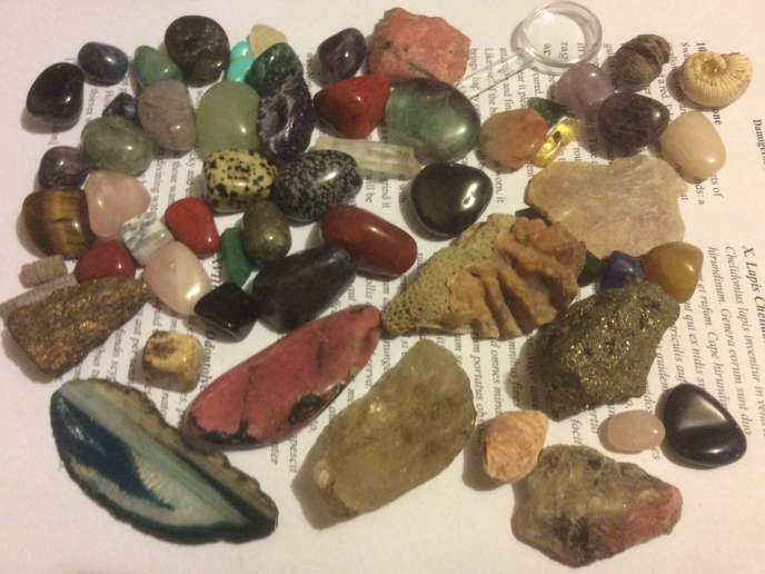 My rock collection