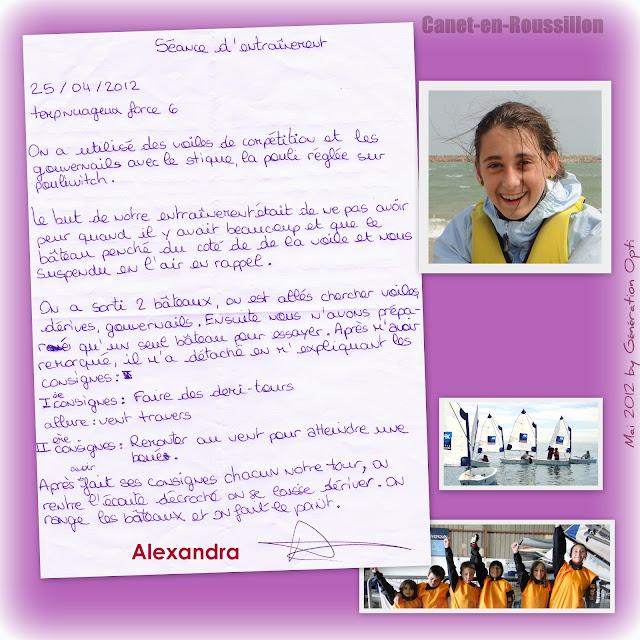 Ecole_de_sport Voile Optimist Canet-en-Roussillon Génération_Opti Entraînement