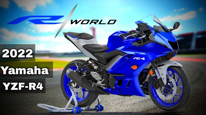 The world is ready for 2022 Yamaha YZF-R4