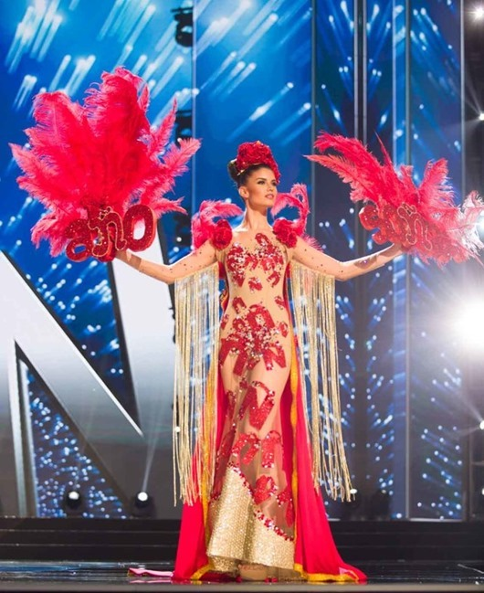 Nohelia Freirie, Miss Spain 2016 debuts her National Costume on stage at the Mall of Asia Arena on Thursday, January 26, 2017.  The contestants have been touring, filming, rehearsing and preparing to compete for the Miss Universe crown in the Philippines.  Tune in to the FOX telecast at 7:00 PM ET live/PT tape-delayed on Sunday, January 29, live from the Philippines to see who will become Miss Universe. HO/The Miss Universe Organization