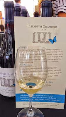 Feast Portland 2014, Oregon Bounty Grand Tasting Elizabeth Chambers wine