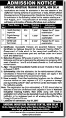 NITC India Admission Notice 2017 www.indgovtjobs.in
