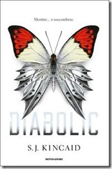 Diabolic - copertina - libro - S. J. Kincaid