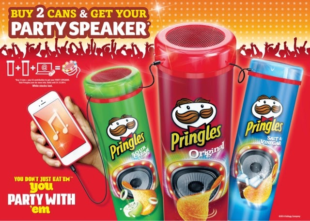 Pringles Party Speaker