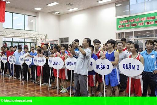 Hình 1: Khai mạc giải vô địch Boxing mở rộng TP HCM năm 2015