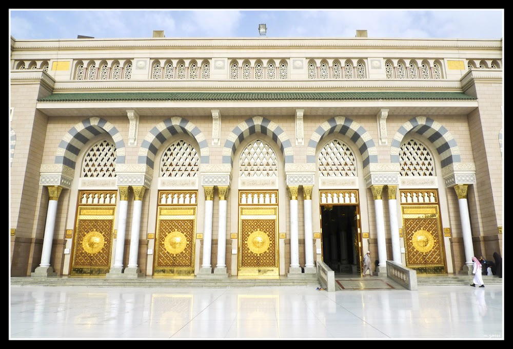 ... door.jpg 1.jpg ...  sc 1 st  Islamic Arts and Architecture & The Prophetu0027s Mosque (Masjid-e-Nabawi)