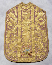 Four Cardinals, Four Violet Chasubles of the Eighteenth Century