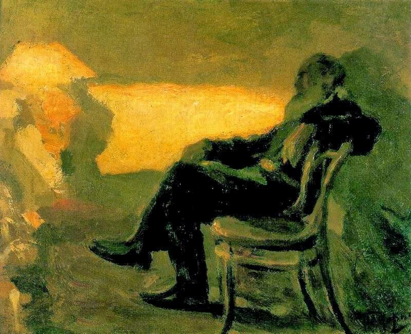 Leonid Pasternak - Leo Tolstoy 1901