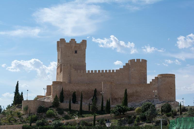 Castillo de la Atalaya de Villena, alicante