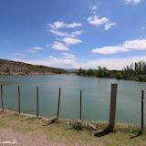 Represa a caminho de Malargue, Argentina