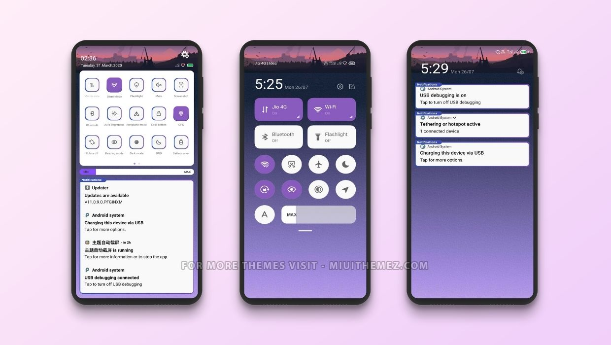 Wither Purple MIUI Theme