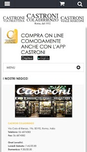 Castroni Shop Online- miniatura screenshot