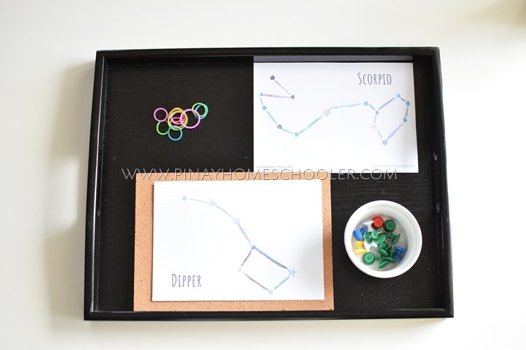 Constellations Pin Poking Activity