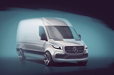 future design of Mercedes-Benz sprinter jetvan