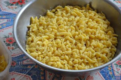 Spaetzel à l'alsacienne à dorer au beurre