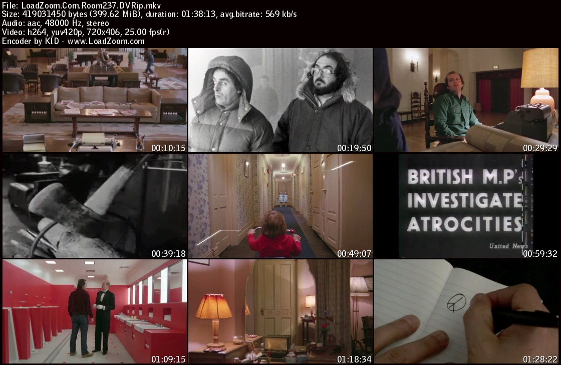 movie screenshot of Room 237 fdmovie.com
