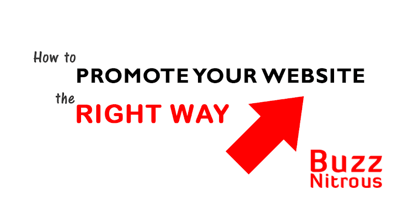 How To Promote Your Website The Right Way