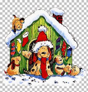 Christmas Dog House-RiRi.jpg