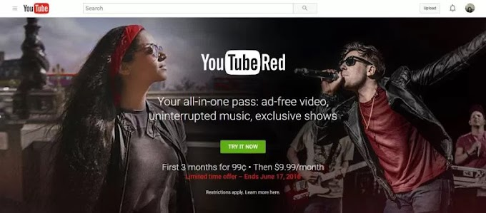 YOUTUBE RED IS NOW AVAILABLE - OFFERS DISCOUNT, NOW AVAILABLE IN NIGERIA