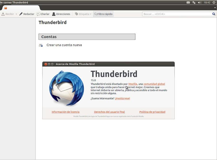 thunderbird%252015 Ubuntu 12.10 quantal Alpha 3 todas las novedades
