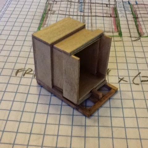 Madness In Miniatures 112 Scale Sliding Box Camera