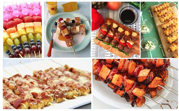 22 skewer ideas