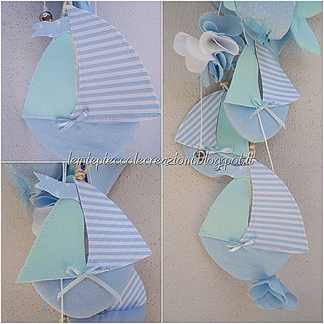 barchette di stoffa_fiocco nascita