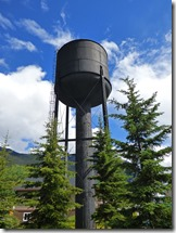Town of Field, Canadian Pacific Railway Water Tower