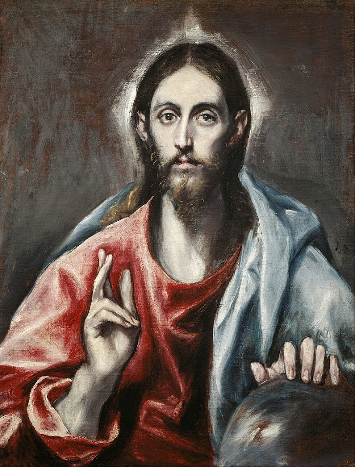 El Greco - Christ as Saviour