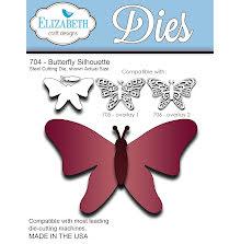 Elizabeth Craft Metal Die - Butterfly Silhouette